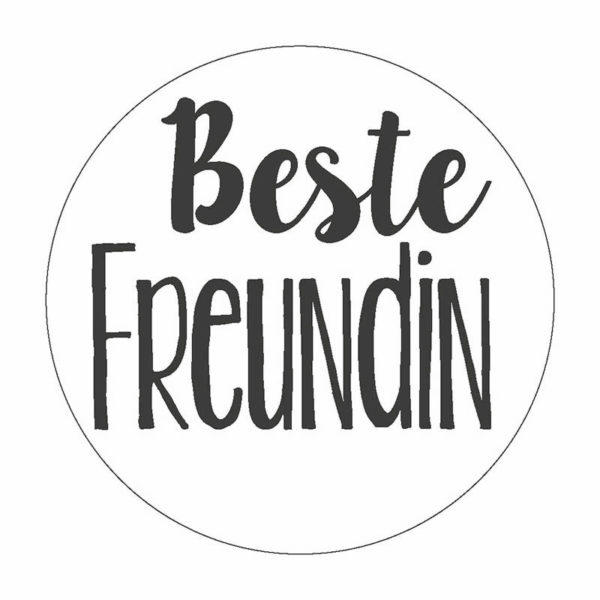 Beste Freundin Button Magnet Bilder Frau Schnobel Grafik