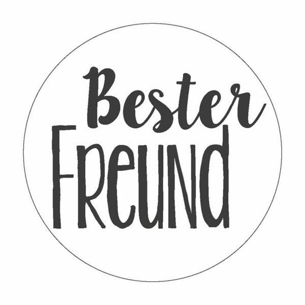 Bester Freund Button Magnet Bilder Frau Schnobel Grafik
