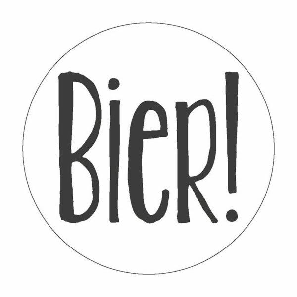Bier Button Magnet Bilder Frau Schnobel Grafik