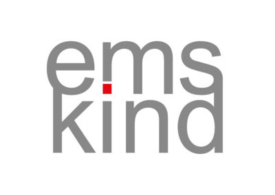 emskind Logoadaption von Frau Schnobel Grafik. Portfolio