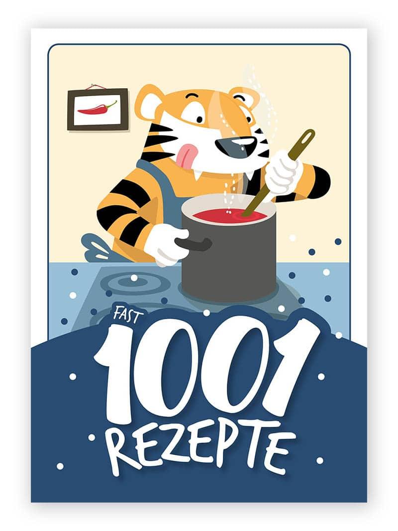 1001 Gewürze Rezeptbuch