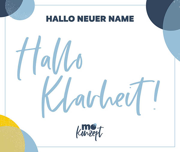 neuer Name – neue Klarheit